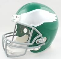 """Vince Papale Signed Eagles Full-Size Helmet Inscribed """"Invincible"""" (JSA Hologram) (See Description) at PristineAuction.com"""