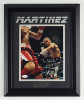 "Raul Martinez Signed 13.5x16.5 Custom Framed Photo Display Inscribed ""La Cobrita"" & ""I.B.A. World Champ"" (JSA COA) (See Description) at PristineAuction.com"