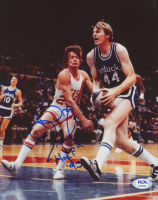 """Dan Issel Signed Nuggets 8x10 Photo Inscribed """"HOF '93"""" (PSA COA) at PristineAuction.com"""