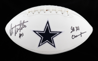 """Danny White Signed Cowboys Logo Football Inscribed """"SB XII Champs"""" (Beckett Hologram) (See Description) at PristineAuction.com"""