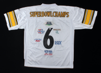 """Chuck Noll Signed Steelers Jersey Inscribed """"IX, X, XIII, XIV"""" (JSA Hologram) at PristineAuction.com"""