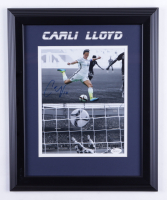 Carli Lloyd Signed Team USA 14x17 Custom Framed Photo Display (JSA COA) at PristineAuction.com