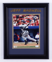 Jeff bagwell Signed Astros 14x17 Custom Framed Photo Display (JSA Hologram) at PristineAuction.com