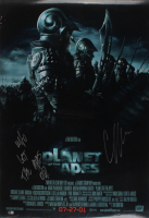 """Cary-Hiroyuki Tagawa Signed """"Planet of the Apes"""" 27x40 Double Sided Poster Inscribed """"Who Let The Apes Out?"""" (Beckett COA) (See Description) at PristineAuction.com"""
