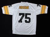 "Joe Greene Signed Steelers Jersey Inscribed ""HOF 87"" (JSA COA) at PristineAuction.com"