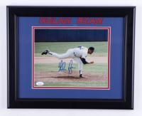 Nolan Ryan Signed Rangers 13.5x16.5 Framed Photo (JSA COA) (See Description) at PristineAuction.com
