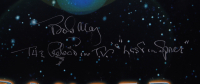 """Jonathan Harris & Bob May Signed """"Lost in Space"""" 27x40 Double Sided Poster Inscribed """"Dr. Smith"""" & """"The Robot in Lost in Space"""" (Beckett COA) (See Description) at PristineAuction.com"""