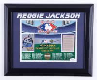 Reggie Jackson Signed LE Yankees 13.5x16.5 Framed Photo (JSA COA) (See Description) at PristineAuction.com