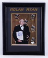Nolan Ryan Signed 13.5x16.5 Framed Photo (JSA COA) (See Description) at PristineAuction.com