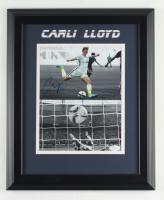 Carli Lloyd Signed Team USA 13.5x16.5 Custom Framed Photo Display (JSA COA) (See Description) at PristineAuction.com