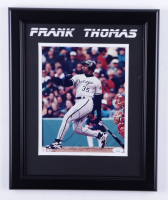 Frank Thomas Signed White Sox 13.5x16.5 Framed Photo (JSA COA) (See Description) at PristineAuction.com
