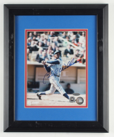 Billy Williams Signed Cubs 13.5x16.5 Custom Framed Photo Display (MLB Hologram & Steiner Hologram) (See Description) at PristineAuction.com