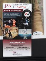 """Wes Studi Signed 13.5x16.5 Custom Framed Photo Display Inscribed """"2013"""" (JSA COA) (See Description) at PristineAuction.com"""