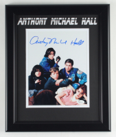 """Anthony Michael Hall Signed """"The Breakfast Club"""" 13.5x16.5 Custom Framed Photo Display (JSA Hologram) at PristineAuction.com"""