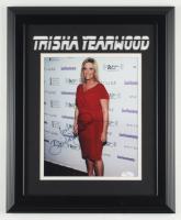 "Trisha Yearwood Signed 13.5x16.5 Custom Framed Photo Display Inscribed ""Love"" (JSA COA) at PristineAuction.com"