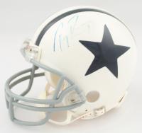 Tony Romo Signed Cowboys Throwback Mini Helmet (JSA COA & SportsMemorabilia COA) (See Description) at PristineAuction.com