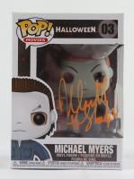 "Nick Castle Signed ""Halloween"" #03 Michael Myers Funko Pop! Vinyl Figure Inscribed ""The Shape"" (Beckett Hologram) (See Description) at PristineAuction.com"
