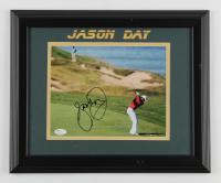 Jason Day Signed 14x17 Custom Framed Photo Display (JSA COA) at PristineAuction.com