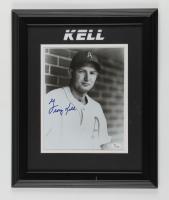 George Kell Signed Athletics 14x17 Custom Framed Photo Display (JSA COA) (See Description) at PristineAuction.com