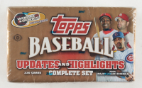 2005 Topps Updates and Highlights Complete Set of (330) cards at PristineAuction.com