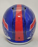 Stefon Diggs Signed Bills Flash Alternate Full-Size Speed Helmet (Beckett Hologram) at PristineAuction.com