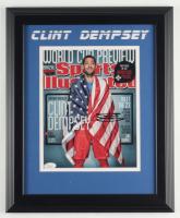 Clint Dempsey Signed Team USA 13.5x16.5 Custom Framed Photo Display (JSA COA) (See Description) at PristineAuction.com