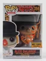 "Malcolm McDowell Signed ""A Clockwork Orange"" #359 Alex DeLarge with Mask Funko Pop! Vinyl Figure (Beckett COA) at PristineAuction.com"