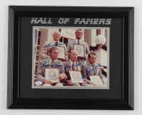 Hall Of Famers 14x17 Custom Framed Photo Display Signed by (4) with Harmon Killebrew, Pee Wee Reese, Rick Ferrell & Luis Aparicio (JSA COA) at PristineAuction.com