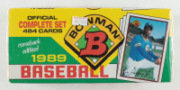 1989 Bowman Complete Set of (484) Baseball Cards with Ken Griffey Jr. RC at PristineAuction.com