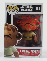 "Tim Rose Signed ""Star Wars"" Admiral Ackbar #81 Funko Pop! Vinyl Figure Inscribed ""It's a Trap!"" & ""Admiral Ackbar"" (Beckett COA) at PristineAuction.com"