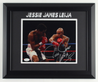 Jesse James Leija Signed 14x17 Custom Framed Photo Display (JSA COA) at PristineAuction.com