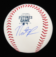 Nate Pearson Signed OML 2019 Future's Game Baseball (JSA COA) at PristineAuction.com