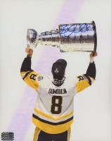 Brian Dumoulin Signed Penguins 8x10 Photo (Dumoulin COA) at PristineAuction.com