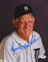 Sparky Anderson Signed Tigers 8x10 Photo (PSA COA) at PristineAuction.com