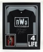 """Hollywood"" Hulk Hogan Signed 34x42 Custom Framed T-Shirt Display (JSA COA) (See Description) at PristineAuction.com"