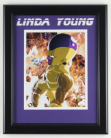 """Linda Young Signed """"Dragonball Z"""" 13.5x16.5 Custom Framed Photo Display Inscribed """"Frieza"""" (JSA COA) (See Description) at PristineAuction.com"""