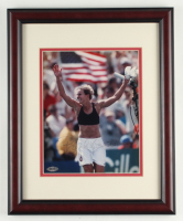 Brandi Chastain Signed 13x16 Custom Framed Photo Display (Steiner COA & Stacks of Plaques COA) at PristineAuction.com