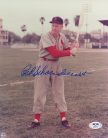 Red Schoendienst Signed Cardinals 8x10 Photo (PSA COA) at PristineAuction.com