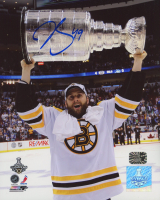 Rich Peverley Signed Bruins 8x10 Photo (Peverley COA) at PristineAuction.com
