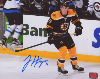 Jimmy Hayes Signed Bruins 8x10 Photo (YSMS Hologram) at PristineAuction.com