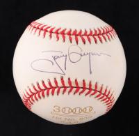 Tony Gwynn Signed 3000 Hit ONL Baseball (JSA COA) at PristineAuction.com