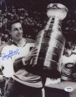 Jean Beliveau Signed Canadiens 8x10 Photo (PSA COA) at PristineAuction.com