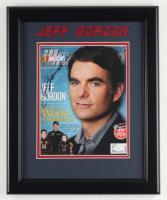 Jeff Gordon Signed NASCAR 13.5x16.5 Custom Framed Photo Display (JSA COA) at PristineAuction.com