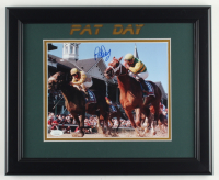 Pat Day Signed 13.5x16.5 Custom Framed Photo Display (JSA COA) at PristineAuction.com