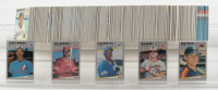 Complete Set of (679) 1989 Fleer Baseball Cards with Ken Griffey Jr. #548 RC, Randy Johnson #381 RC, Craig Biggio #353, Jeff Treadway #173A, Bill Ripken 1989 Fleer #616B at PristineAuction.com