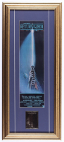 """""""Star Wars: Return of the Jedi"""" 12x27 Custom Framed Movie Poster with 24KT Gold Card at PristineAuction.com"""