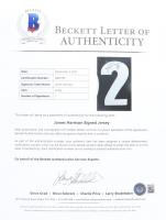 James Harrison Signed 35x43 Custom Framed Jersey Display (Beckett LOA) (See Description) at PristineAuction.com