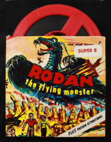 """""""Rodan the Flying Monster"""" 12.5x30 Custom Framed Photo with Vintage 8MM Film in Original Box at PristineAuction.com"""