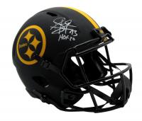 "Troy Polamalu Signed Steelers Full-Size Eclipse Alternate Speed Helmet Inscribed ""HOF 20"" (JSA COA) at PristineAuction.com"