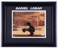 "Daniel Logan Signed ""Star Wars"" 13.5x16.5 Custom Framed Photo Inscribed ""Boba Fett"" (Beckett Hologram) (See Description) at PristineAuction.com"